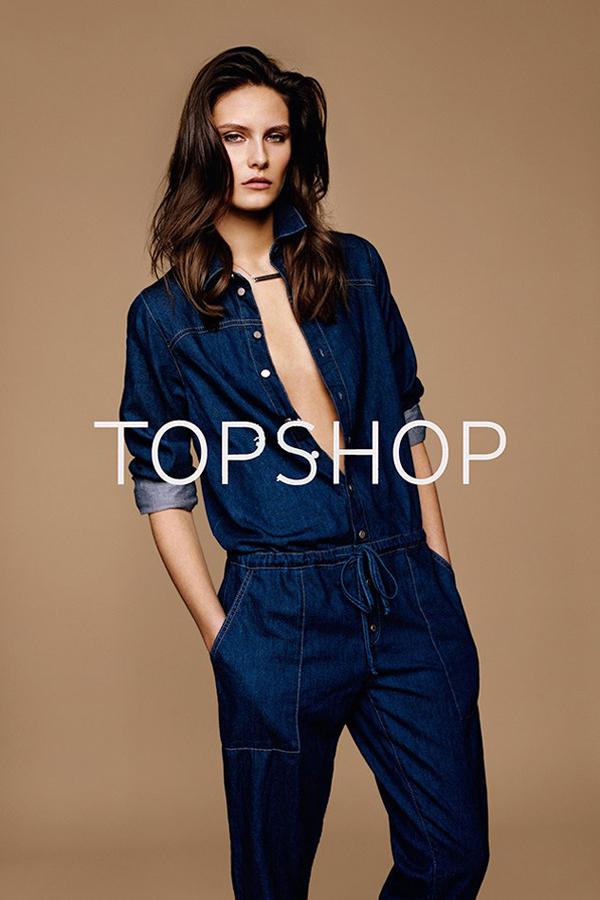Topshop 2014春夏系列广告出炉