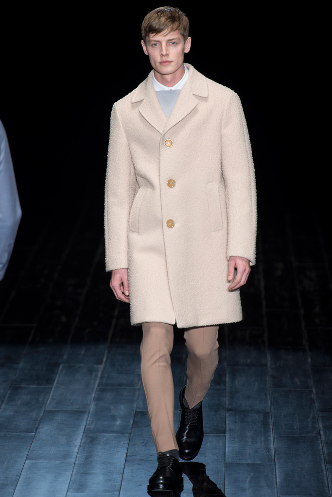 Gucci古驰米兰2014秋冬系列男装秀