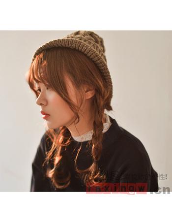 2014最新日系甜美编发发型