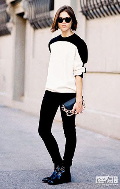 裤子x靴子 不同风格搭配之道图片