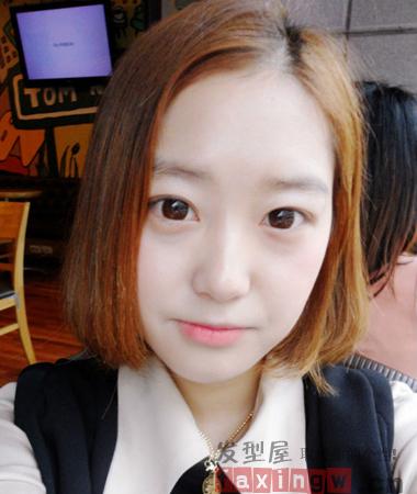 矮个子女生适合的俏皮短发 显高显瘦显气质