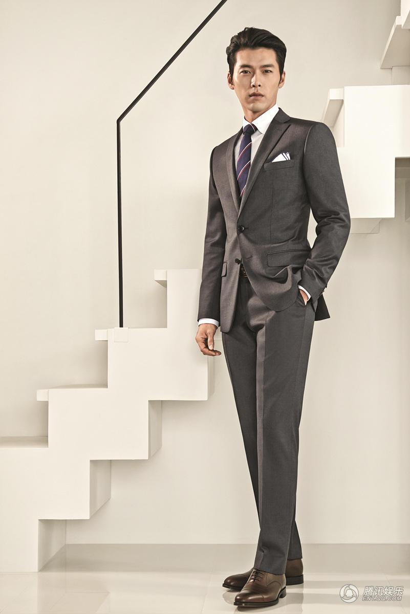 中国服装网 人物 玄彬拍正装写真绅士魅力足 尽显完美身材
