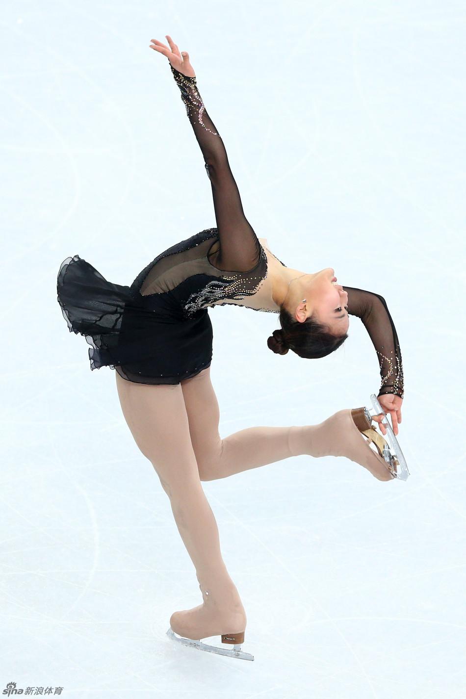 冬奥花滑女神舞姿