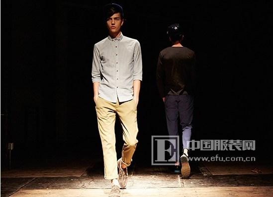 中国服装网 时尚资讯 秀场 潮牌viishow在伦敦发布2014春季时装秀