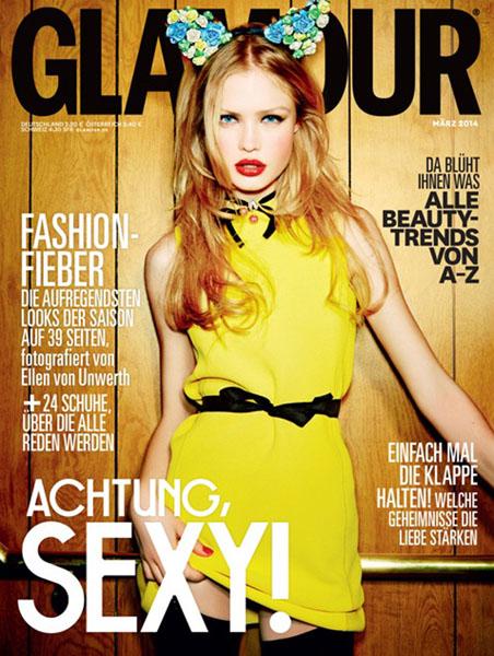 《Glamour》三月刊抢先看 复古缤纷色引爆视觉