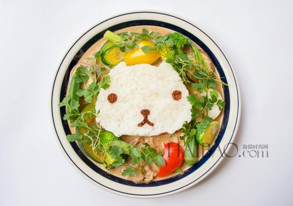 可爱卡通×美味食物赶走坏心情_天下美食资讯_中国