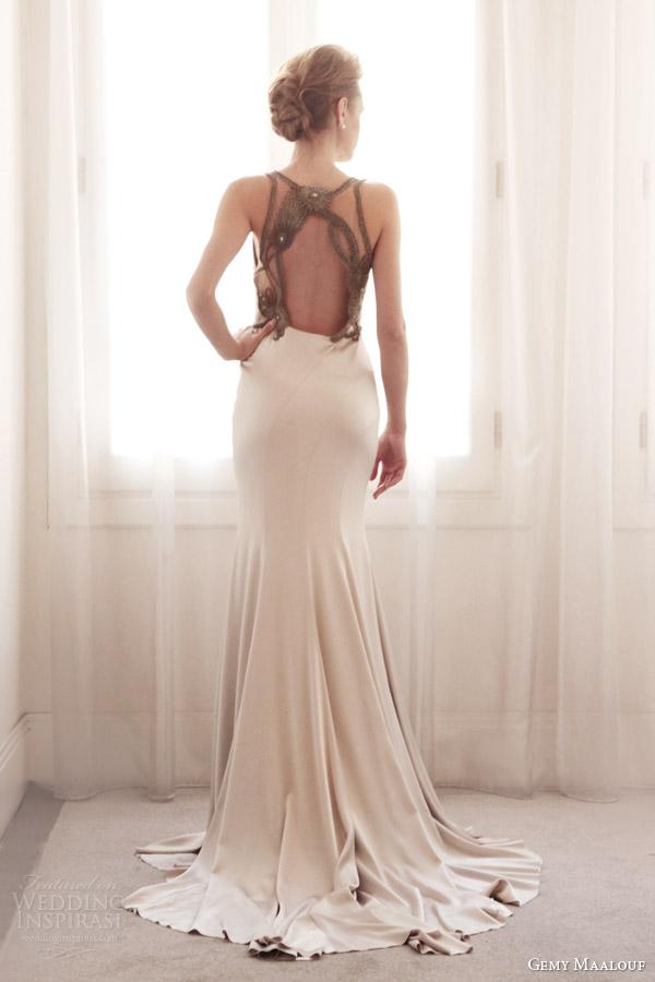 Gemy Maalouf 发布2014婚纱礼服系列_婚纱礼服资讯_中国服装网
