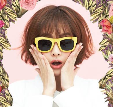 吴妍书代言韩国品牌ab.plus女装