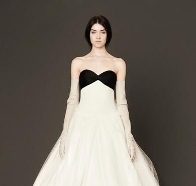 Vera Wang 2014春夏系列最新款婚纱曝光