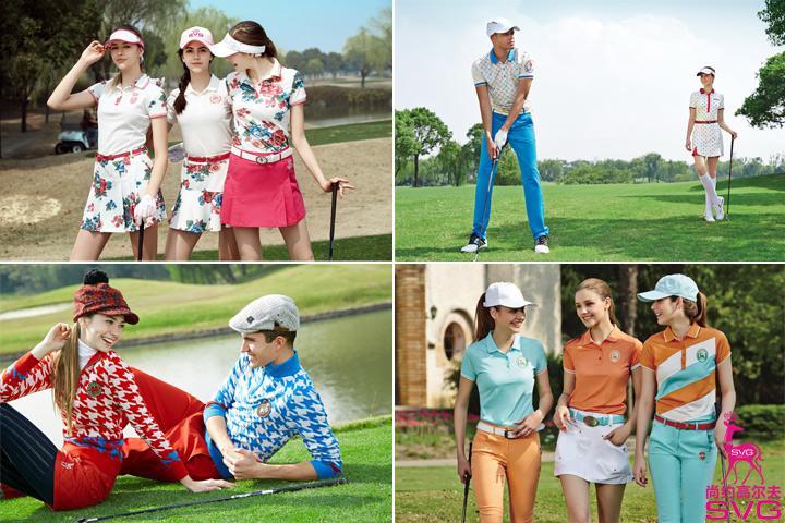 时尚靓丽高尔夫服装 svg尚约高尔夫 引领运动时尚潮流