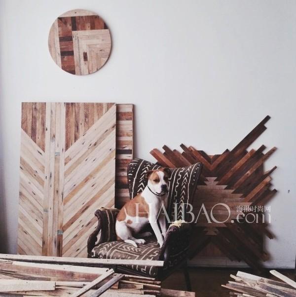设计师ariele alasko,用废旧木材重新打造新家具