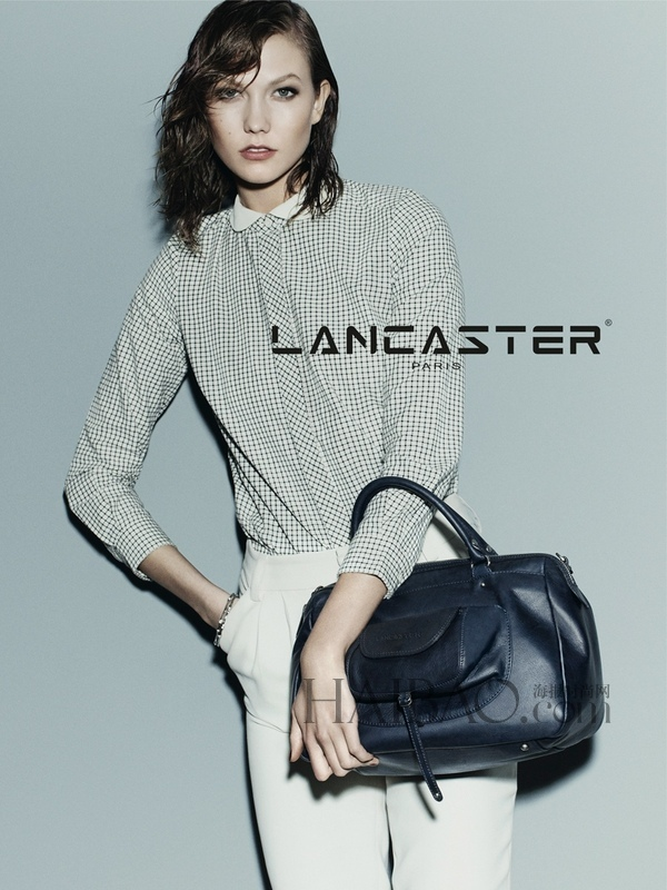 卡莉·克劳斯 (Karlie Kloss) 演绎兰嘉丝汀 (Lancaster) 2014秋季包袋广告大片