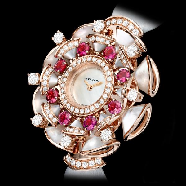 宝格丽 (Bulgari) Diva系列珠宝腕表
