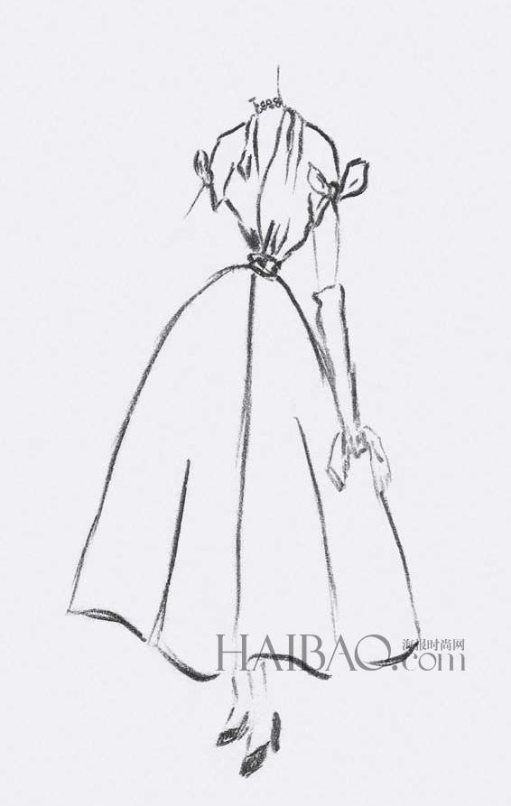 迪奥(dior) 时装设计手稿