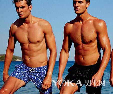 沙滩型男短裤搭配秘笈