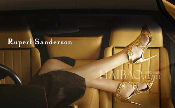 鲁伯特·桑德森 (rupert sanderson) 2014秋冬鞋履系列广告大片摄影师