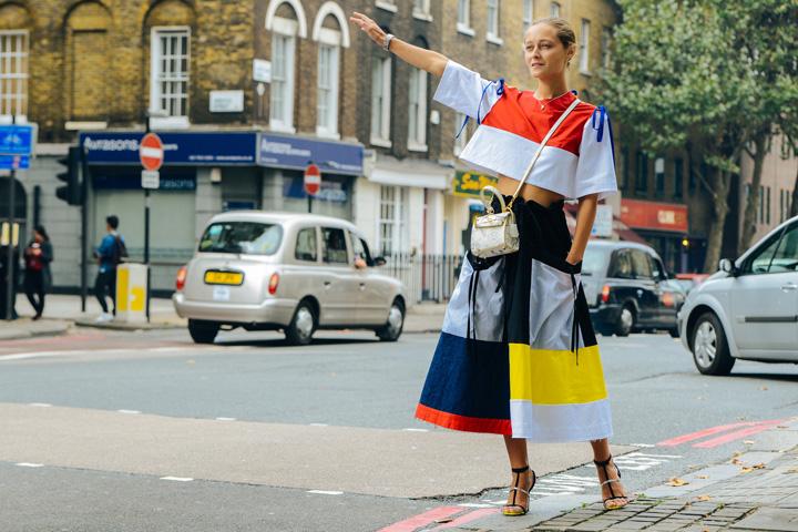 2015春夏伦敦时装周街拍集锦图片