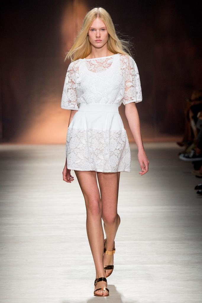 Blumarine 米兰2015春夏系列时装秀