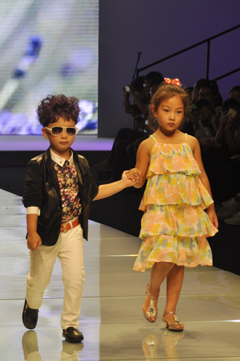 波兰童装品牌COCCODRILLO新品发布秀