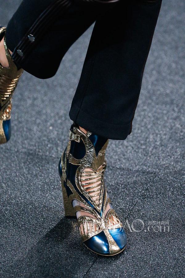 2015春夏巴黎时装周:路易·威登LV (Louis Vuitton) 2015春夏女装秀场细节