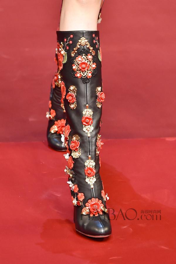 2015春夏米兰时装周:杜嘉班纳 (Dolce&Gabbana) 2015春夏女装秀