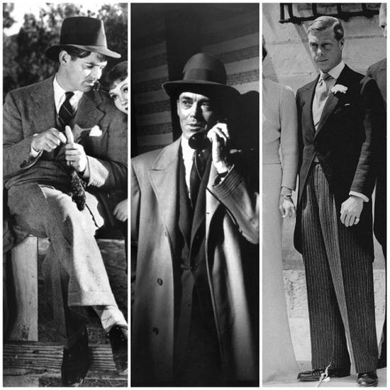 与克拉克盖博起名的摩登Icon还有Henry Fonda、The Duke of Windsor