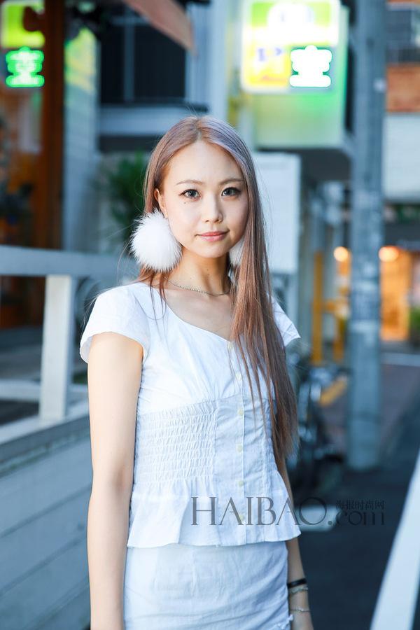 2014年9月日本街拍发型播报:蓬松造型短发,纹理挑染,原宿风是主潮流!