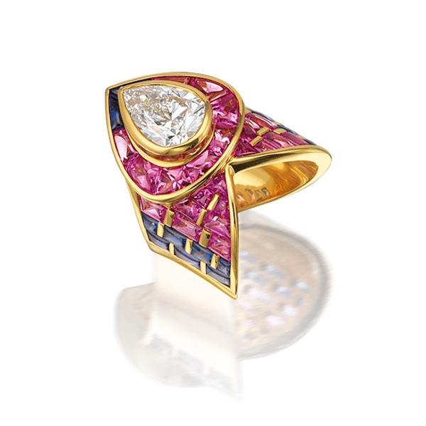 邦瀚斯香港拍卖史上最大规模Marina B 奢华珠宝