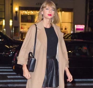 泰勒最新街拍 这么美让其他明星怎么活?