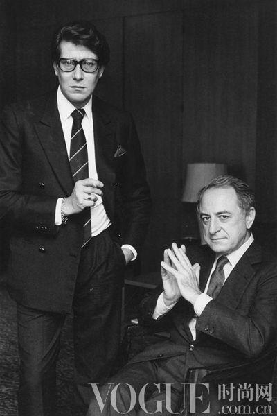Yves saint Laurent、Pierre Berge