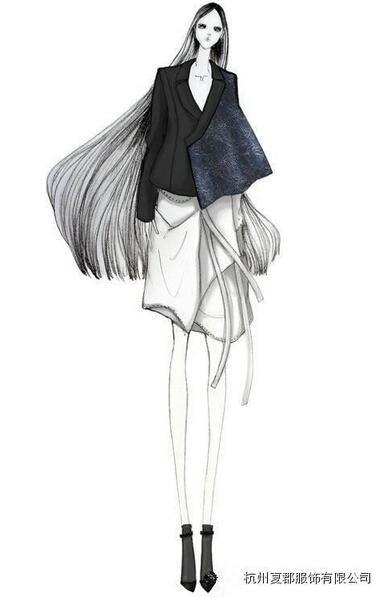 n界:高端的服装设计图稿