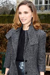 娜塔丽·波特曼现身2015巴黎高定周