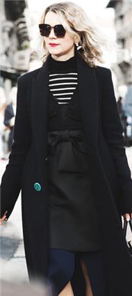 时尚顾问&造型师Natalie Joos 2015秋冬米兰时装周街拍
