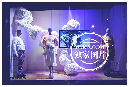 2015年秋冬巴黎時裝周老佛爺櫥窗設計