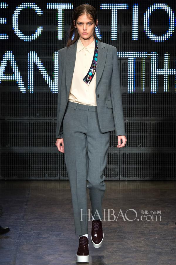 2015秋冬纽约时装周:DKNY女装秀