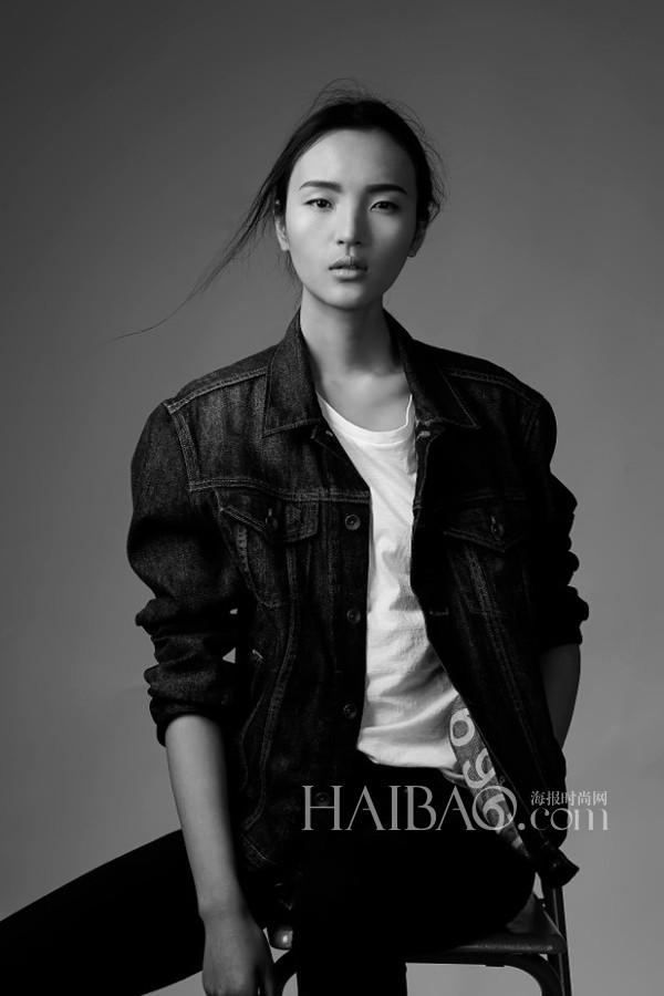 中国模特王路平时尚硬照