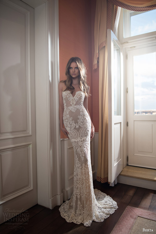 Berta 2015秋冬婚纱系列LookBook
