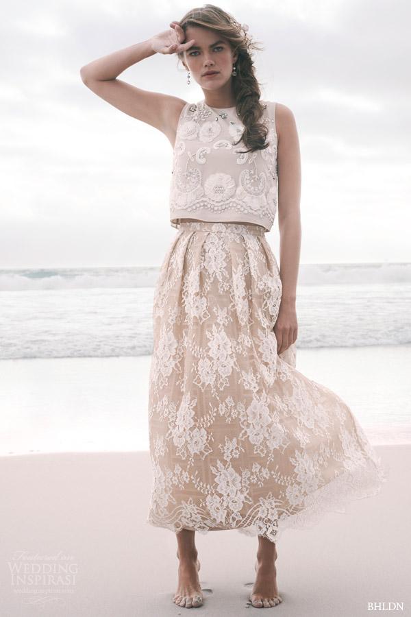 BHLDN 2015夏季婚纱系列广告大片