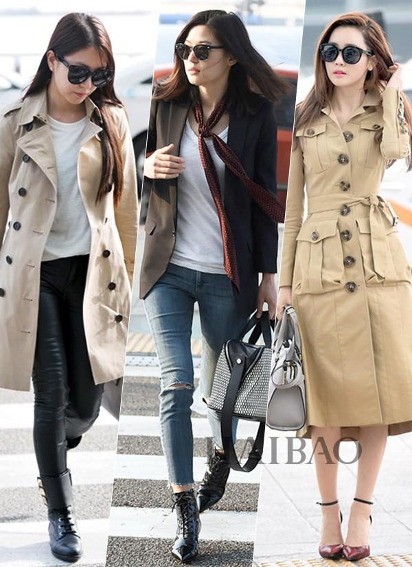 海报时尚网最新韩国女明星街拍 (3月15日-4月11日)