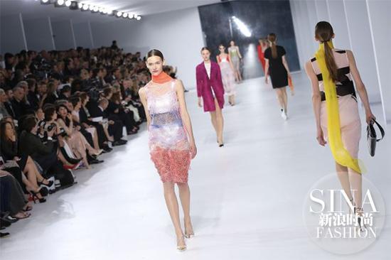 Dior-2014早春摩纳哥秀场