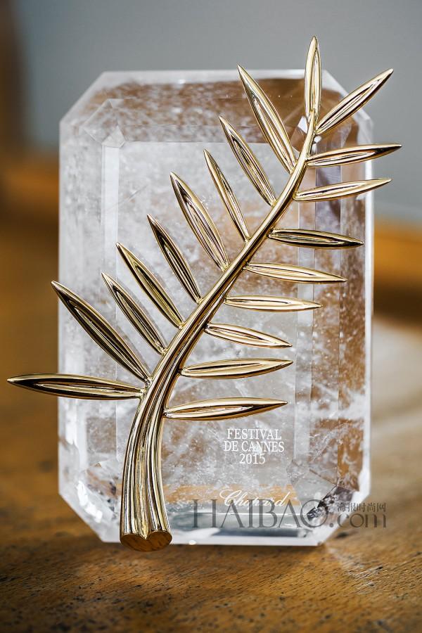 萧邦 (Chopard) 为戛纳电影节设计金棕榈奖杯