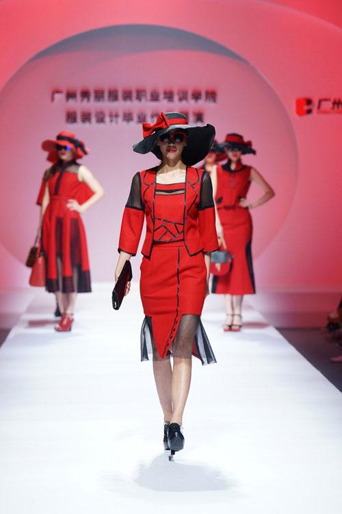 广州秀丽服装职业培训学院服装设计毕业作品在2015中国(广东)大学生