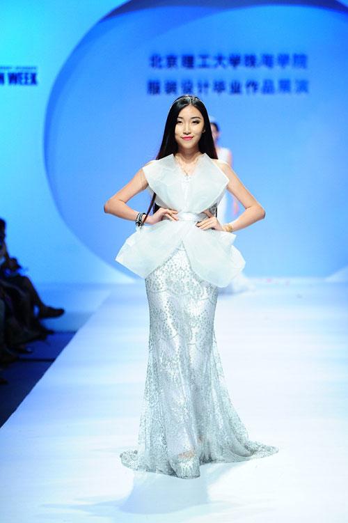 北京理工大学珠海学院服装设计毕业作品在2015中国(广东)大学生时装周图片