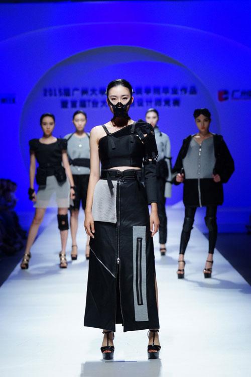广州大学纺织服装学院服装设计毕业作品展演