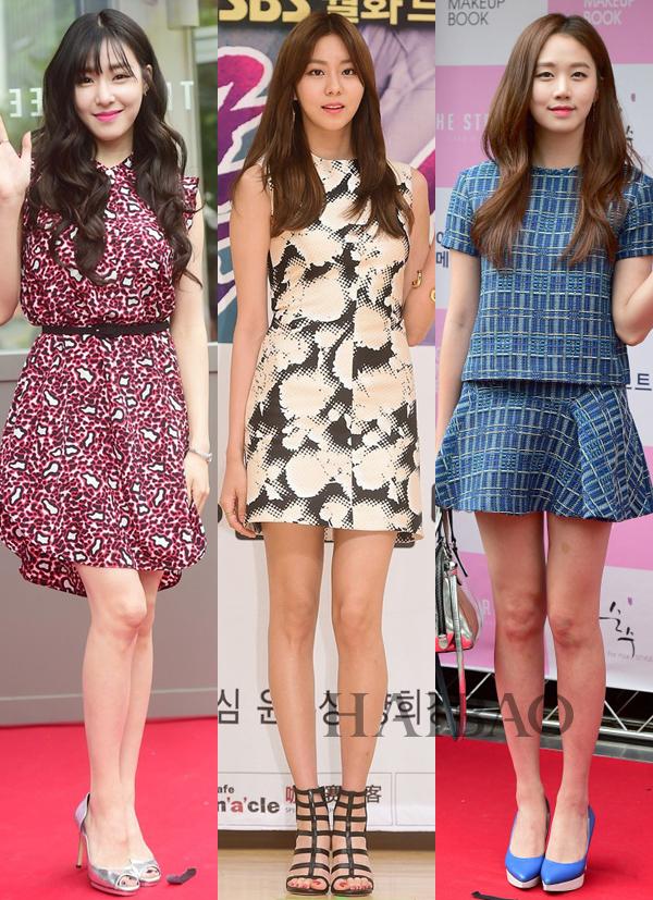 韩国女明星三日着装小结(6月1日-6月4日)