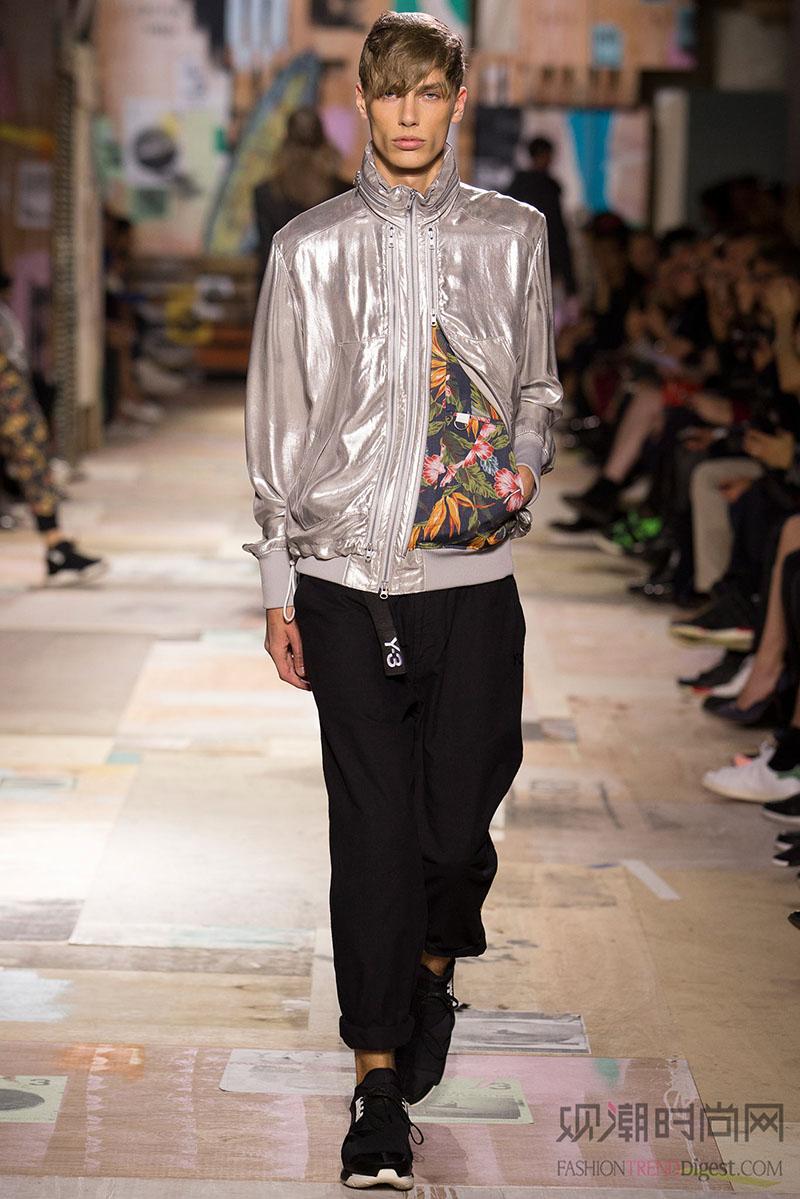 中国服装网 时尚资讯 搭配 运动风突破重围,卫衣与西装裤也能搭配