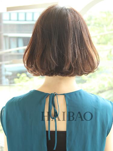 日系发型潮流播报:8款日系中长发摆脱短发变长发的尴尬期图片