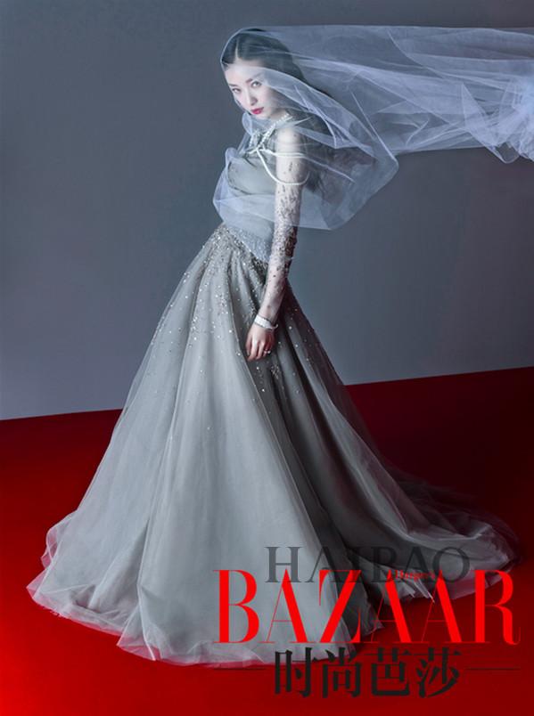 倪妮登《Harper's Bazaar时尚芭莎》2015年8月刊(下半月)封面