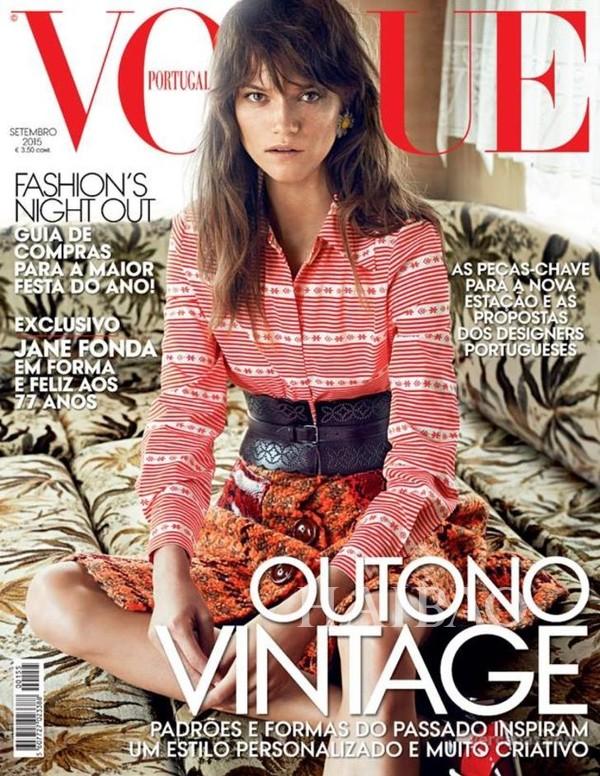 《Vogue》葡萄牙版2015年9月刊封面