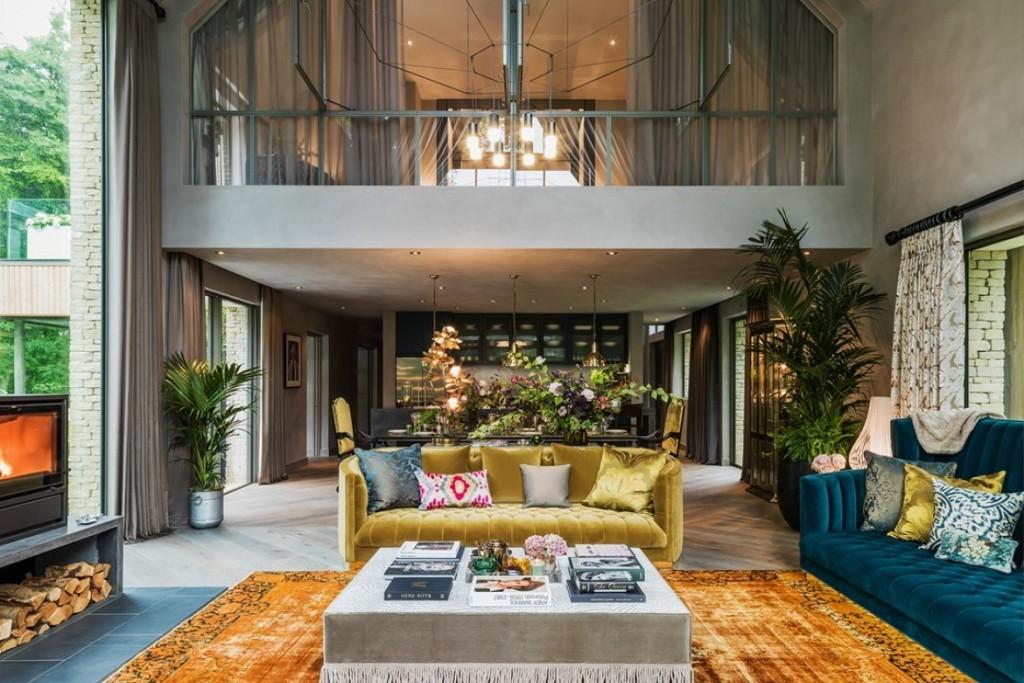 kate moss变身室内设计师 处女作为英国乡间豪宅